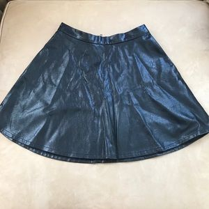 American Eagle Leather Skirt